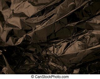 donker, grunge, polytheen, textuur