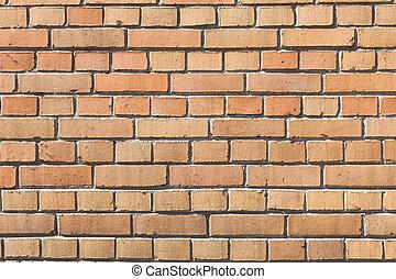 donker, rode baksteen muur
