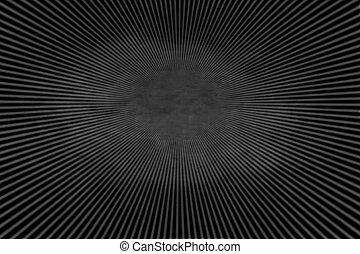 donker, stralen, achtergrond, radiaal
