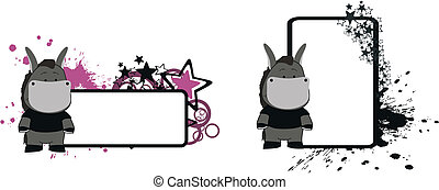 donkey cartoon copyspace05