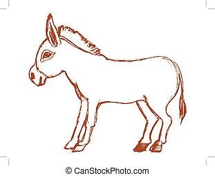 donkey symbol of stubbornness