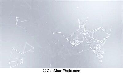 données, complexe, résumé, réseau, boucle, arrière-plan., ...