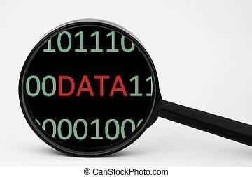 données, concept