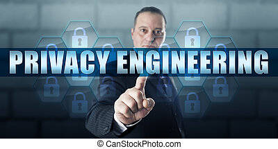 données, directeur, toucher, intimité, ingénierie