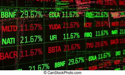 données, fond, stockage, noir, contre, marché, traitement