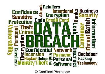 données, infraction