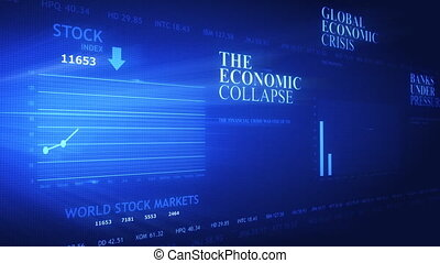 données, moderne, bankrupcy, écran