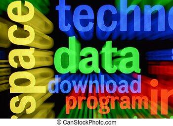 données, téléchargement