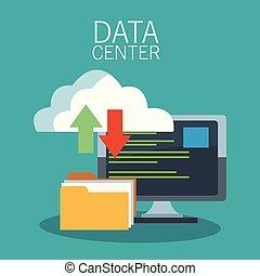 données, technologie, centre