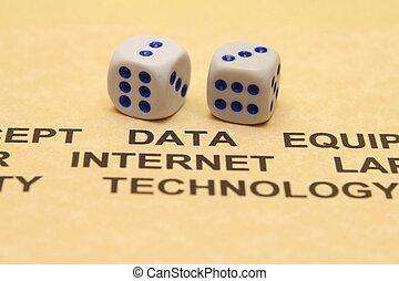 données, technologie, internet