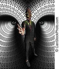 données, voleur