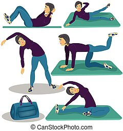 donna, aerobica