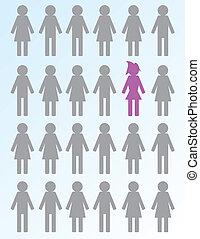 donna, anticonformista