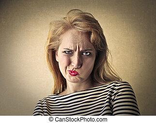 donna arrabbiata