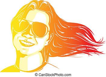 donna, colorito