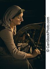 donna contadino, filarello