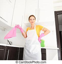 donna, cucina