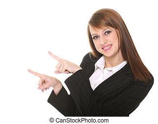 donna d'affari, carino