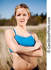 donna, esercizio