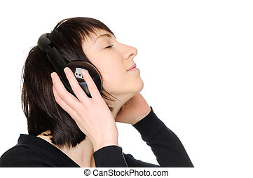 donna, godere, musica