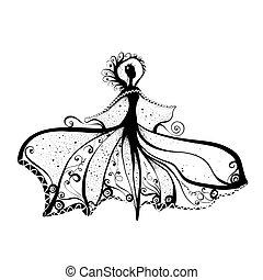 donna, inchiostro