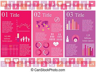 donna, infographics