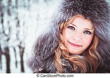 donna, inverno