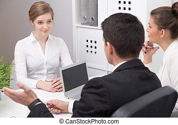 donna, su, intervista