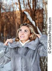 donna, vestiti inverno