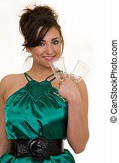 donna, vetri vino
