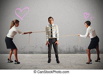 donne affari, in, conflitto