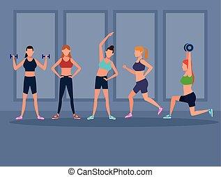 donne, esercizio, idoneità