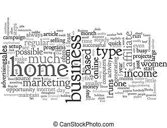 donne, fondo, concetto, affari, wordcloud, basato, testo, casa