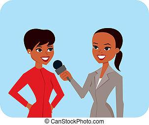 donne, intervistare