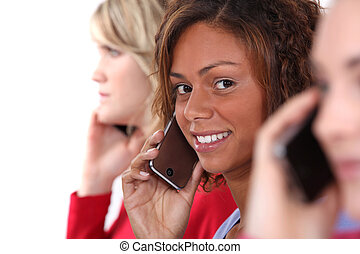 donne, telefono