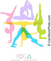 donne, yoga, asanas