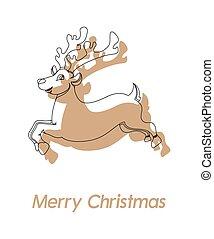 Donner Christmas Reindeer Drawing