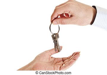 donner, clés