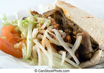 Donner Kebab - A donner kebab - traditional late night ...