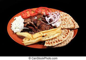 donner kebab meal
