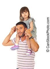 donner, père, sien, fille, ferroutage