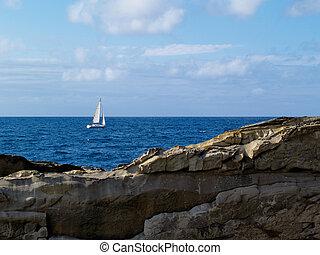 Donostia - San Sebastian, ocean view