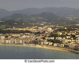 Donostia - San Sebastian, view from Mount Igueldo