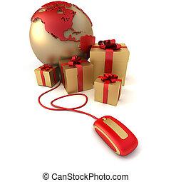 dons, amérique, luxe, ligne