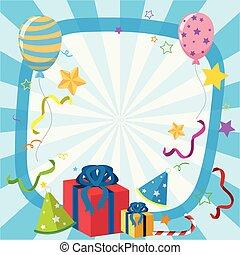 dons, ballons, frontière, gabarit