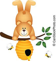 dons, bijenkorf, voordeel, beer, teddy