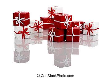 dons, boîtes