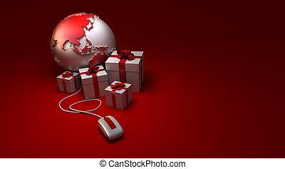 dons, mondiale, amérique, ligne