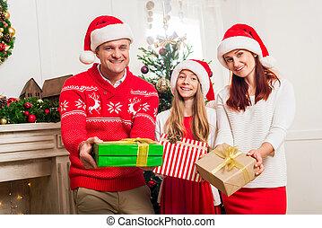 dons, noël, famille