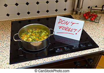 dont forget to sign dementia patient - a sign that says dont...